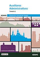 Auxiliar Administrativo de la Comunidad Autónoma de Aragón (DGA) - Ed. Adams