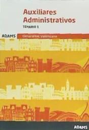 Auxiliares Administrativos de la Generalitat Valenciana - Ed. Adams