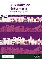 Auxiliar de Enfermería de la Generalitat Valenciana - Ed. Adams