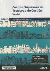 Cuerpos Superiores de Técnicos y de Gestión de la Generalitat Valenciana - Ed. Adams