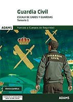 Guardia Civil Escala de Cabos y Guardias - Ed. Adams
