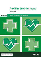 Temario 2 Auxiliar de Enfermería del Servicio Canario de Salud de Ed. Adams