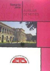 Temario de oposiciones - Auxiliar de Archivos y