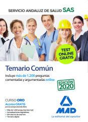 Temario común del Servicio Andaluz de Salud (SAS) de Ed. MAD
