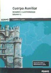 Cuerpo Auxiliar de la Administración de la Comunidad de Castilla y León - Ed. Adams