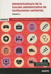 Administrativo de la Conselleria de Sanidad Universal y Salud Pública - Ed. Adams
