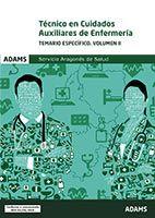Técnicos en Cuidados Auxiliares de Enfermería del Servicio Aragonés de Salud - Ed. Adams