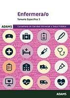Temario específico 3 de Enfermera-o de la Conselleria de Sanidad Universal y Salud Pública de Ed. Adams