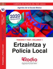 Ertzaintza y Policía Local. Agentes de la Escala Básica - Ediciones Rodio