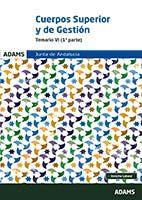 Temario VI Cuerpo Superior de Administradores Cuerpo de Gestión de la Junta de Andalucía de Ed. Adams