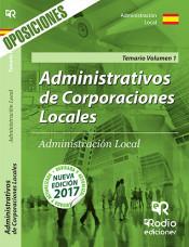 Administrativos de Corporaciones Locales. Administración Local - Ediciones Rodio