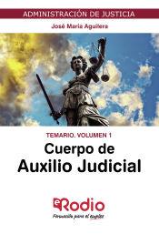 Cuerpo de Auxilio Judicial de la Administración de Jusiticia - Ediciones Rodio
