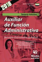 Auxiliar de la Función Administrativa del SES - Ediciones Rodio