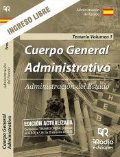 Cuerpo General Administrativo de la Administración del Estado. Turno Libre - Ediciones Rodio