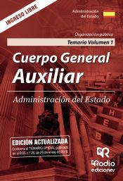 Cuerpo General Auxiliar de la Administración del Estado. Turno Libre - Ediciones Rodio