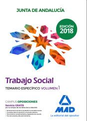 Trabajadores Sociales de la Junta de Andalucía. Parte Específica - Ed. MAD