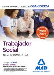 Trabajador Social de Osakidetza-Servicio Vasco de Salud. Temario común y test