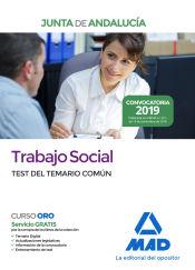 Trabajo Social de la Junta de Andalucía. Test del temario común de Ed. MAD