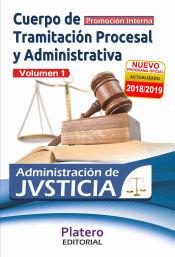 Cuerpo de Tramitación Procesal y Administrativa de la Administración de Justicia. Promoción interna - Platero Editorial
