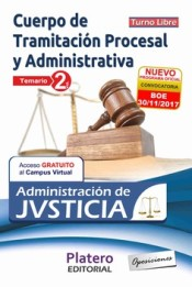 TRAMITACIÓN PROCESAL Y ADVA ADMINISTRACIÓN JUSTICIA TURNO LIBRE TEMARIO VOL II